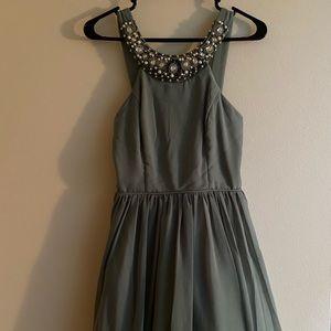 Beautiful Sage Green Dress